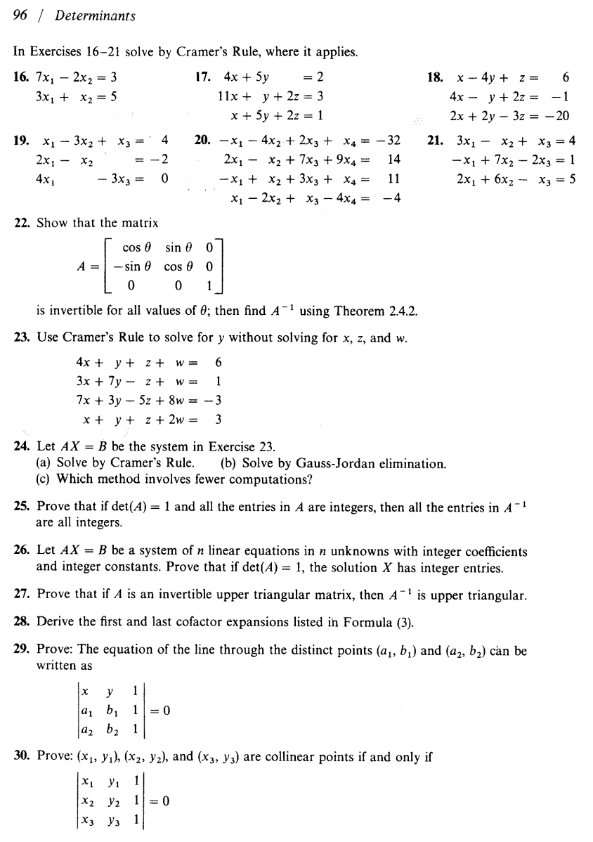 matrix 2x3 by 3x3 homework help